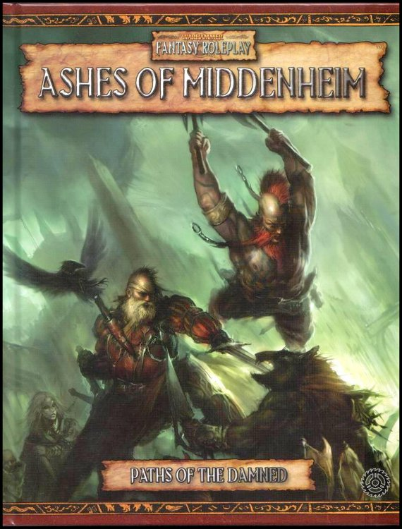 Cover of WFRP2 scenario: Ashes of Middenheim